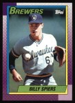 1990 Topps #538  Bill Spiers  Front Thumbnail