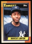 1990 Topps #302  Marcus Lawton  Front Thumbnail