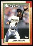 1990 Topps #702  Tony Phillips  Front Thumbnail