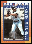 1990 Topps #401   -  Kevin Mitchell All-Star Front Thumbnail