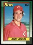 1990 Topps #445  Danny Jackson  Front Thumbnail