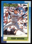 1990 Topps #15  Teddy Higuera  Front Thumbnail