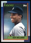 1990 Topps #327  Ken Williams  Front Thumbnail