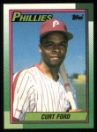 1990 Topps #39  Curt Ford  Front Thumbnail