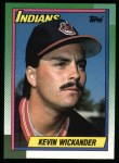 1990 Topps #528  Kevin Wickander  Front Thumbnail