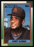 1990 Topps #353  Sandy Alomar Jr.  Front Thumbnail