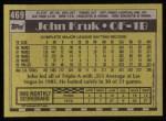 1990 Topps #469  John Kruk  Back Thumbnail
