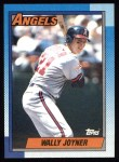 1990 Topps #525  Wally Joyner  Front Thumbnail