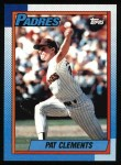 1990 Topps #548  Pat Clements  Front Thumbnail
