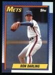 1990 Topps #330  Ron Darling  Front Thumbnail