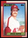 1990 Topps #22  Bruce Ruffin  Front Thumbnail