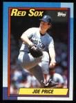 1990 Topps #473  Joe Price  Front Thumbnail