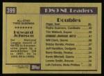 1990 Topps #399   -  Howard Johnson All-Star Back Thumbnail