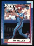 1990 Topps #370  Tim Wallach  Front Thumbnail