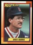 1990 Topps #529  Greg A. Harris  Front Thumbnail