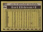 1990 Topps #130  Bert Blyleven  Back Thumbnail