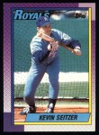 1990 Topps #435  Kevin Seitzer  Front Thumbnail