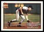 1991 Topps #128  Travis Fryman  Front Thumbnail
