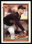 1991 Topps #179  Pete Harnisch  Front Thumbnail