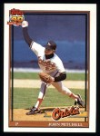 1991 Topps #708  John Mitchell  Front Thumbnail