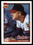 1991 Topps #231  Doug Rader  Front Thumbnail