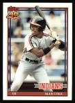 1991 Topps #421  Alex Cole  Front Thumbnail