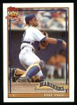 1991 Topps #178  Dave Valle  Front Thumbnail