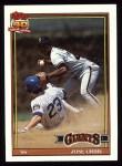 1991 Topps #158  Jose Uribe  Front Thumbnail