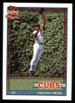 1991 Topps #463  Dwight Smith  Front Thumbnail