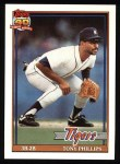 1991 Topps #583  Tony Phillips  Front Thumbnail