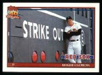 1991 Topps #530  Roger Clemens  Front Thumbnail