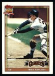 1991 Topps #657  Mike Kingery  Front Thumbnail