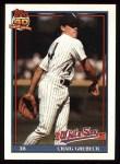 1991 Topps #446  Craig Grebeck  Front Thumbnail