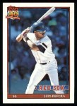 1991 Topps #338  Luis Rivera  Front Thumbnail