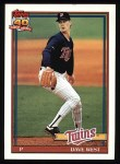 1991 Topps #578  Dave West  Front Thumbnail