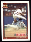 1991 Topps #76  Jerry Browne  Front Thumbnail