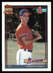 1991 Topps #333  Chipper Jones  Front Thumbnail