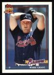 1991 Topps #287  Mark Grant  Front Thumbnail