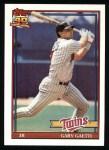 1991 Topps #430  Gary Gaetti  Front Thumbnail