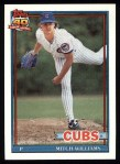 1991 Topps #335  Mitch Williams  Front Thumbnail