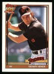 1991 Topps #697  Shawn Abner  Front Thumbnail