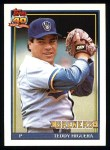 1991 Topps #475  Ted Higuera  Front Thumbnail