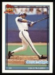 1991 Topps #140  Fred McGriff  Front Thumbnail