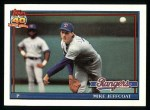 1991 Topps #244  Mike Jeffcoat  Front Thumbnail