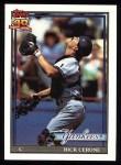 1991 Topps #237  Rick Cerone  Front Thumbnail