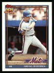 1991 Topps #30  Gregg Jefferies  Front Thumbnail