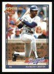 1991 Topps #226  Alfredo Griffin  Front Thumbnail