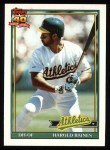 1991 Topps #166  Harold Baines  Front Thumbnail