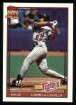 1991 Topps #266  Carmelo Castillo  Front Thumbnail