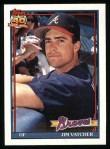 1991 Topps #196  Jim Vatcher  Front Thumbnail